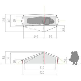 VAUDE Lizard GUL Tent 1P green